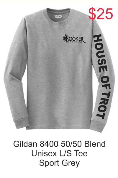 Long-Sleeve Unisex T-Shirt (Gildan 8400) - RTS