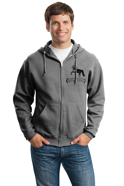 Traditional Zip-Up Hoodie-SC