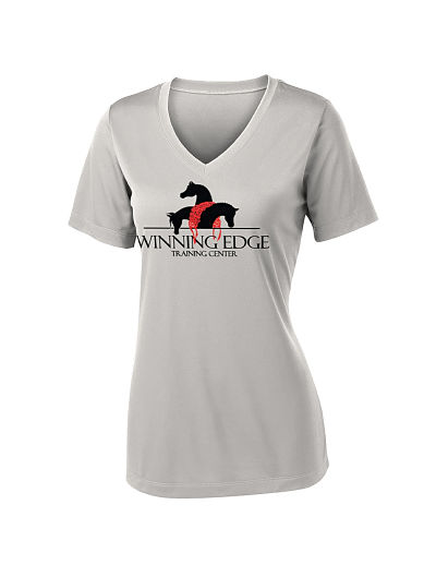 Augusta Attain V Neck Performance Wear T-Shirt - Winning Edge