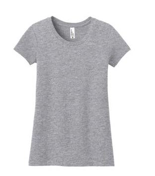 Juniors & Young Girls Short-Sleeved Fitted Tees(DT5001)-Four Points Farm