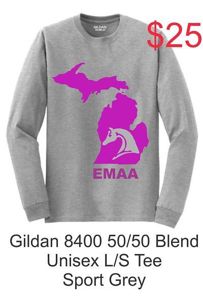 Unisex Long Sleeve Tee (Gildan 8400) - EMAA