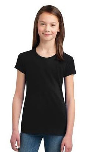 Misty Hill Short Sleeve Fitted Tees - Girls