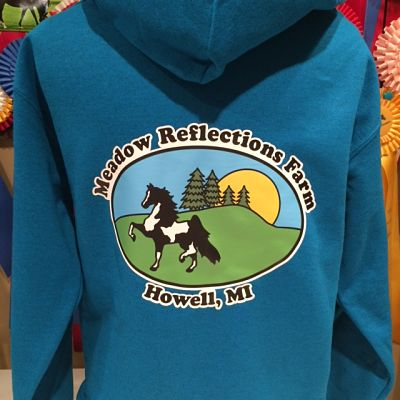 Hoodie(18500) - Meadow Reflections