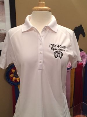 Hox Acres Equestrian - Moisture Wicking Sport Tex Polo