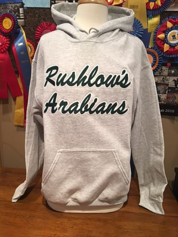 Applique Rushlow's Arabians Hoodie