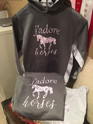 J'Adore Horses Hoodie