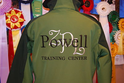 Powell Training Center Men's Softshell Jacket - J311