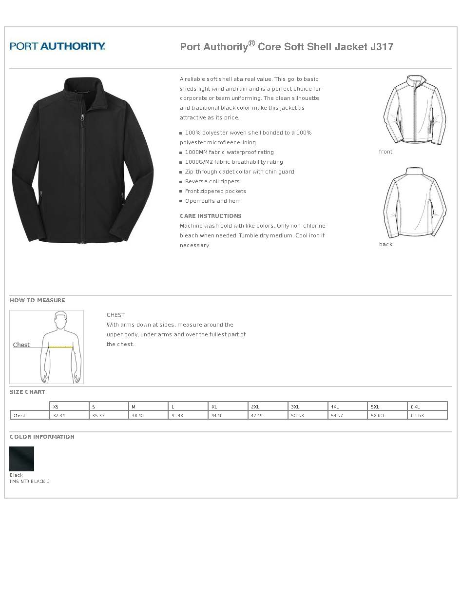 Light Weight Soft Shell Jacket - Men's Port Authority #J317
