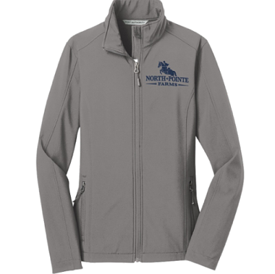 Soft-Shell Jacket - North Pointe Farms (317-Battleship Grey)