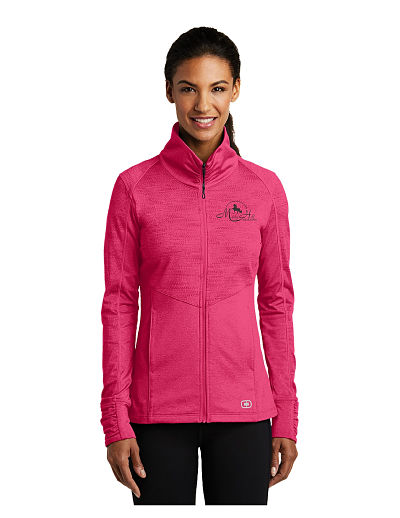 Ogio Full Zip Performance Wear Jacket (LOE702) - Misty Hill
