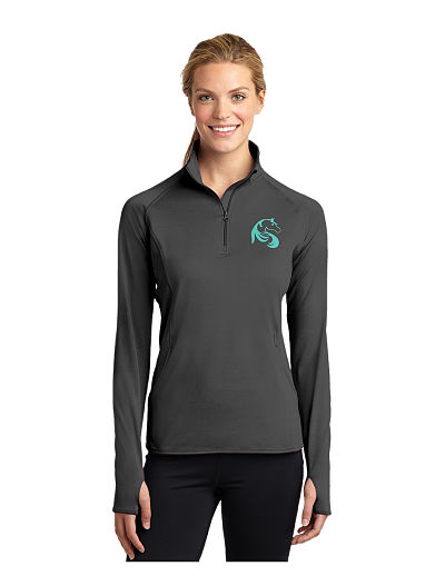 LST850 Ladies Sport-Tex Peformance 1/4 Zip - Justamere Equestrian Centre