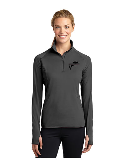 1/4 Zip - Fleece Lined 1/4 Zip - (LST850) Never Limit Equestrian