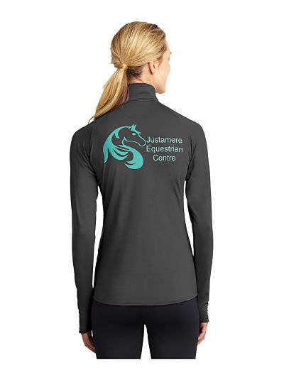 LST850 Ladies Sport-Tek Peformance 1/4 Zip - Justamere