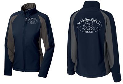 Jacket, Colorblock Softshell Port Authority (ST970) - Stapleton Farm