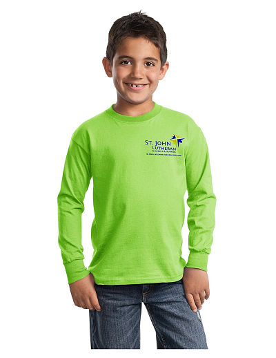 St. John Eagles LS T-Shirt