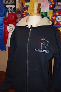 Rushlow's - Heavy Sherpa Lined Zip Hoodie