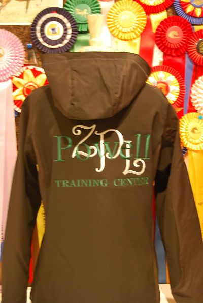 Powell Training Center - Embroidered Hooded Soft Shell Jacket - LADIES Port Authority #312