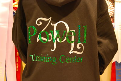 Powell Training Center - Ladies Hoodie