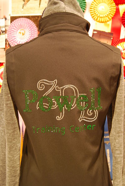 Powell Training Center - Soft Shell Vest -(325)