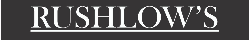 Rushlows Logo Wear