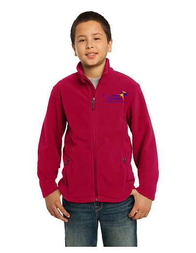 St. John Eagles Fleece Jacket - Youth Only