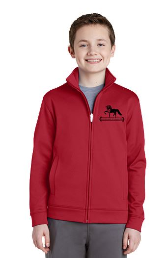 Sport-Tek Sport Wick Fleece Full-Zip Jacket (SC-ST241)