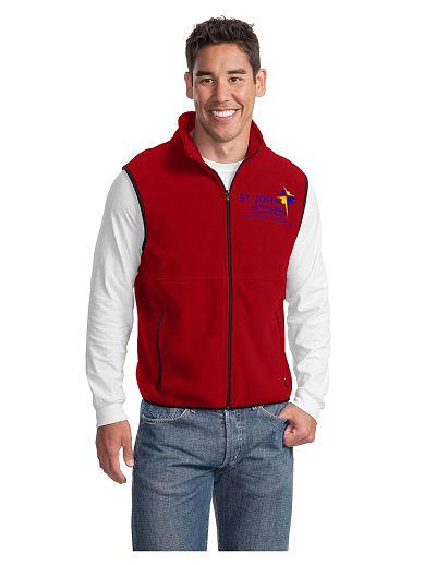 St. John Eagles Fleece Vest - Adult Sizes Only