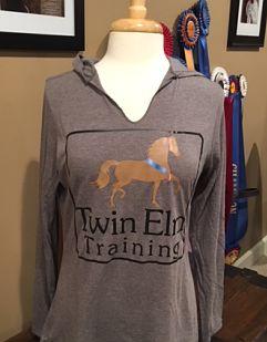 Hooded T-Shirt - Twin Elm (DM139L, DT139Y)