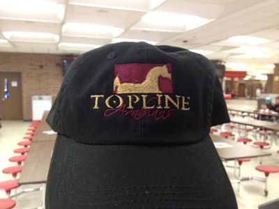 Topline Arabians Embroidered Baseball Hat