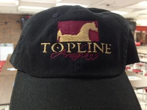Topline Arabians Embroidered Baseball Hat