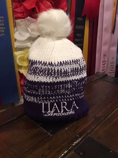 Holloway Pom Hat - Tiara Arabians