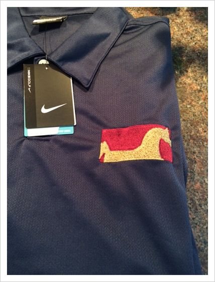 Topline Arabians Men's Nike Dri-Fit Golf Shirt - Embroidered