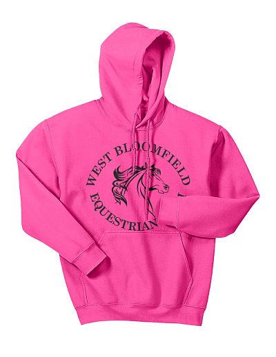 Hoodie - Gildan 18500 West Bloomfield Equestrian Team