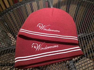 Embroidered knit hat - Windermere