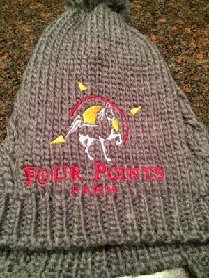 Cable Knit Beanie (DT617) Four Points Farm