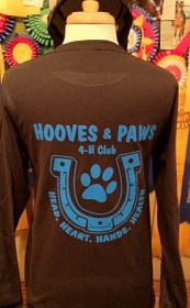 Hooves & Paws Long Sleeve Tee