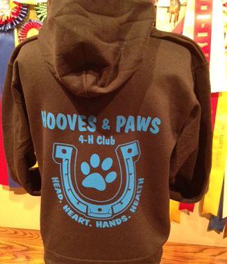 Hooves & Paws Hoodie
