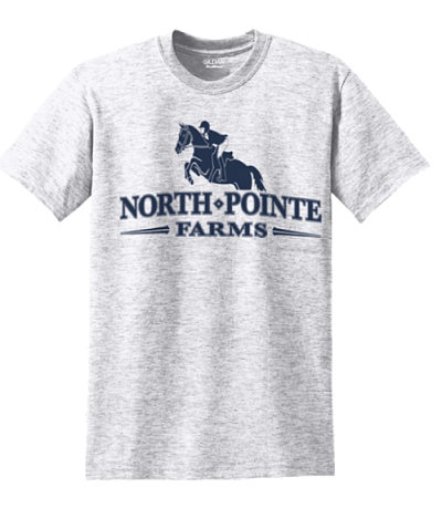 Short Sleeve Unfitted T-Shirt - North Pointe Farm (8000)