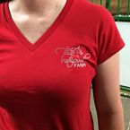 Trotwood - Ladies Fitted V-Neck Tee