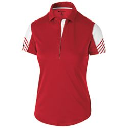 222748 Ladies and Men's Arc Polo (Holloway)-Showcase  Stables
