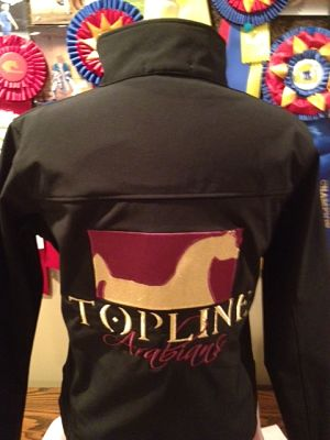 Topline Arabians - Embroidered Soft-Shell Jacket  (Port Authority #790)